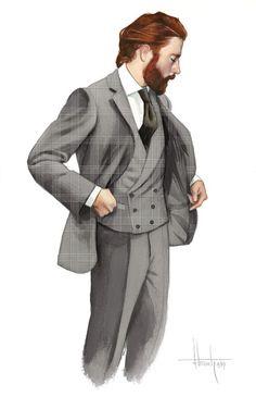 Cifonelli lanza su nuevo prêt-à-porter en Paris Man Illustration, Fashion Illustration Sketches, Fashion Sketches, Fashion Cover, Fashion Art, Mens Fashion, Fashion Design, Costume En Lin, Character Inspiration