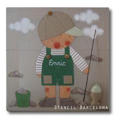 Cuadros infantiles de #stencilbarcelona