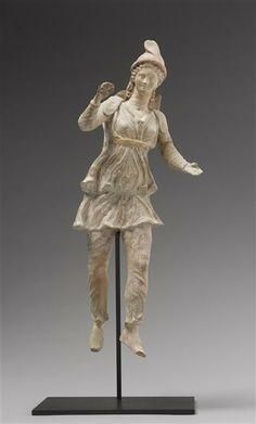 Figurine d'Attis. 2e moitie 2e siècle av J.-C. // site de production : Myrina. Paris, musée du Louvre