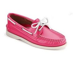 Sperrys everything-pink