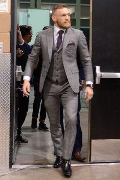 Mcgregor suits - Conor McGregor's Boldest, Loudest, and Most Badass Fits Connor Mcgregor, Conor Mcgregor Suit, Mcgregor Suits, Mens Fashion Suits, Mens Suits, Louis Vuitton Shirts, Looking Dapper, Irish Men, Well Dressed Men