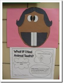 What If I Had Animal Teeth? (opinion writing to go along with book)