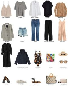 What to Pack for Paris, France - Packing Light - livelovesara Casual Day Outfits, Lit Outfits, Outfits With Converse, Travel Outfits, Paris Spring Outfit, Spring Outfits, Packing Light, What To Pack, Grey Shirt