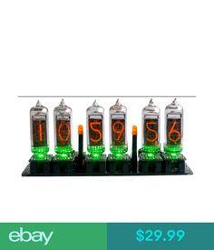 Digital Clocks & Clock Radios Nixie Clock Kit (No Tubes) Arduino Open Source With Removable Tubes Arduino Board, Nixie Tube, Digital Clocks, Open Source, Radios, Ebay, Kit, Products, Digital Watch