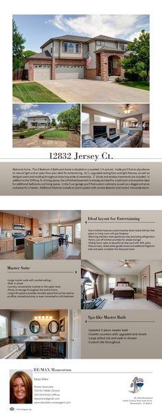 12832 Jersey Ct. Thornton, CO 80602  SHOWINGS START JULY 10, 2014!
