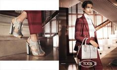 Tod's - - Spring 2014 - Ad Campaign | TheImpression.com