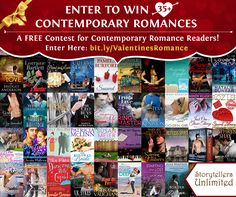 #Win 35+ Contemporary Romances PLUS a Kindle Fire! http://www.storytellers-unlimited.com/giveaways/affairs-of-the-heart-valentines-day-romance-giveaway/?lucky=311 via @Storytellers10