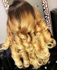 Natural Brazilian Human Virgin Hair Bundles with lace closure Love Hair, Gorgeous Hair, Weave Hairstyles, Pretty Hairstyles, Curly Hair Styles, Natural Hair Styles, Hair Laid, Brazilian Hair, Hair Hacks