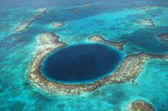 El gran agujero azul, Belice