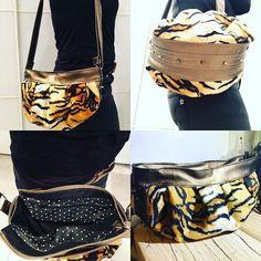 Bag By Mag sur Instagram: #sacotin; #cancan #sacôtinaddict #leopard