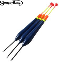 Sougayilang Brand 10Pcs 10g float bobbers fishing floats buoys for fishing tackle tools Free shipping