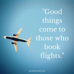 book a flight travel quote