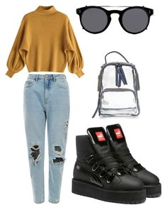 """""""don't you forget about me"""" by lullolo on Polyvore featuring Puma and Valentino"""