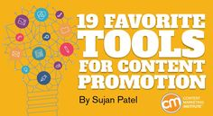 Get more from the content you already produce by expanding your content promotion. Here are 19 tools – many free – to help – Content Marketing Institute Marketing Dashboard, Marketing Tools, Content Marketing, Internet Marketing, Online Marketing, Social Media Marketing, Digital Marketing, Promotion Tools, Marketing Institute