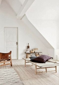 Gorgeous renovated cottage in Copenhagen, featured in the January 2014 issue of Elle Decoration UK. Minimalist Scandinavian perfection. (via the style files)