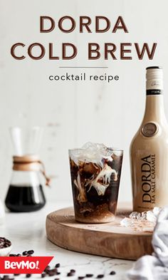 What do you get when you combine Dorda Sea Salt Caramel Liqueur, coffee brew concentrate, milk, and melted chocolate? This tasty Dorda Cold Brew Cocktail Recipe of course! Click to learn more from BevMo! Drinks Alcohol Recipes, Cocktail Recipes, Alcoholic Drinks, Chocolate Liquor, Melted Chocolate, Wine And Liquor Store, Blush Wine, Sea Salt Caramel, All Beer