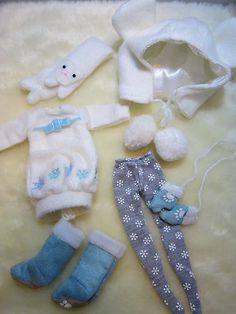 ★new★blythe Ice Rune Outfit Set Free Tracking Shipping | eBay