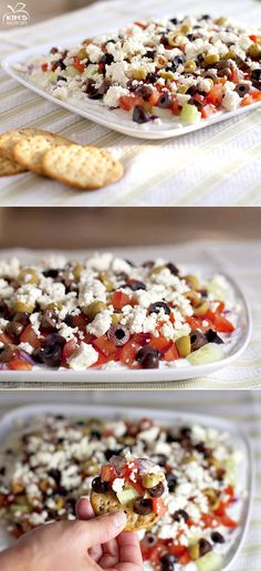 Greek Layered Dip - Do this soon
