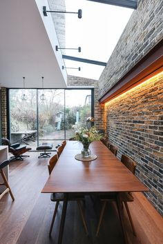 Dalmeny Rd - Contemporary - Kitchen - London - by Martins Camisuli Architects Conference Room, Contemporary, Architects, Kitchen, Table, London, Furniture, Home Decor, Cooking
