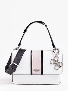 HANDTASCHE LA HIP KONTRASTSTREIFEN | GUESS.eu Thats Not My, Handbags, Shoulder Bags, Beauty, Self, Bags, Guess Bags, Stripes, Women's