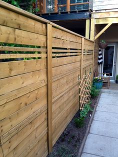 How to Build Fence Panels - using pressure treated lumber, you can create privacy and security - via Store Front Life