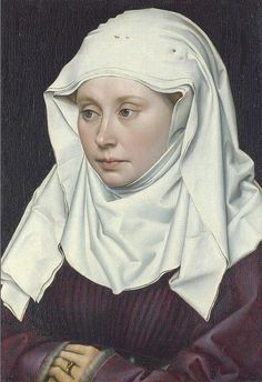 Robert  Campin,  Portrait of a Lady, c1430