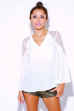 Lace Crochet Tunic | Awesome Selection of Chic Fashion Jewelry | Emma Stine Limited