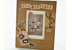Nostalgia Inspired Picture Frame to chronicle your travels...