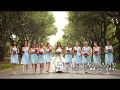 Thinking of having a shades of blue wedding? Be sure to check out Donna Morgan Bridesmaids: Shades of Blue video for some beautiful inspiration! #weddings #DonnaMorganBridesmaids