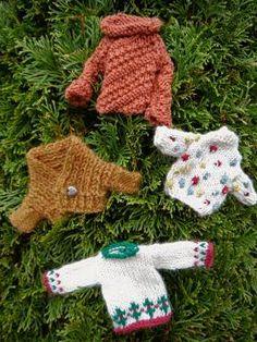Мини свитерочки для елки