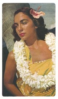 Inspiration: 50s hawaii postcard