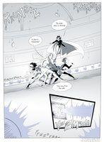 Teen Titans comic, page 26 by JessKat-art