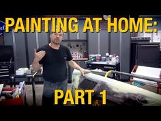 How To Paint A Car - Bare Metal to Clearcoat - Steps To Painting a Car At Home with Kevin Tetz Car Rust Repair, Car Paint Repair, Auto Body Repair, Vehicle Repair, Auto Body Work, Mustang, Car Painting, Spray Painting, Classic Car Restoration