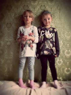 vintage, fashionkids, twins, nina lena, flowers,