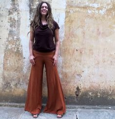 Organic Perfect Pockets Pants light hemp and by gaiaconceptions