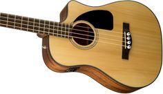 CB-100CE Bass | Dreadnought Acoustic Bass Guitars | Fender® Acoustic Bass Guitars