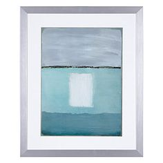 Azure Blue 2 | Framed Art | Art by Type | Art | Z Gallerie