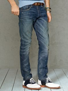 Slim-Fit Lennox-Wash Jean - Polo Ralph Lauren Slim - RalphLauren.com
