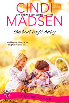 The Bad Boy's Baby (Hope Springs 3) by Cindi Madsen at The Reading Cafe:  http://www.thereadingcafe.com/the-bad-boys-baby-hope-springs-3-by-cindi-madsen-a-review/