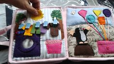 Hand crafted baby quiet book -for Lea- Made by Darina Scepkova......... Rucne robena detska knizka pre Leu