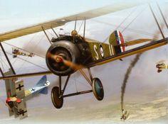 Sopwith Camel vs. Fokker Dr.I