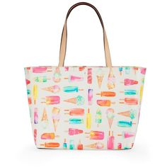Kate Spade New York Flavor Of The Month Ice Cream Francis Tote 198