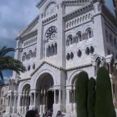 Monaco Cathedral, built in 1875, rests on a site of a 13th century church that was dedicated to Saint Nicholas. The cathedral is the place where many of the Grimaldi's are buried, including Grace Kelly and Rainier III.
