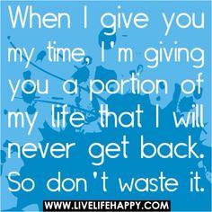 Value me....