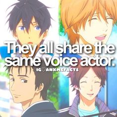 Anime facts seiyuu