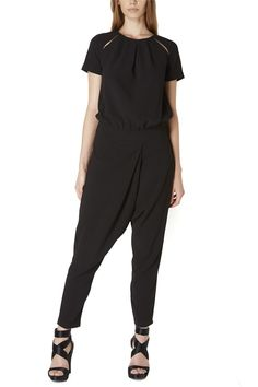 Almagores , Black Jumpsuit, With Baggy Sleeves, Art 541AL20110