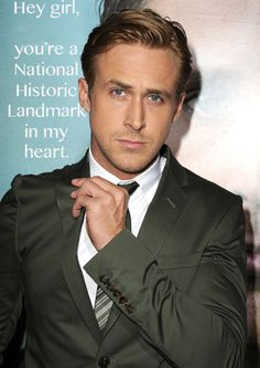 A friend of mine posted a link to this on Facebook. I love the thought of Ryan Gosling saying this to me.
