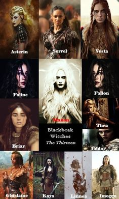 The Thirteen - Blackbeak Witches