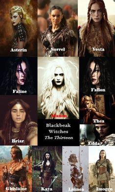 The Thirteen - Blackbeak Witches