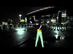 """DCI The Cadets: Philip Bliss' """"On a Hymnsong"""" brassline in-the-lot performance at the New Meadowlands Stadium, NJ..."""